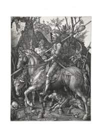 Albrecht Durer: Knight, Death & Devil- Canvas Print