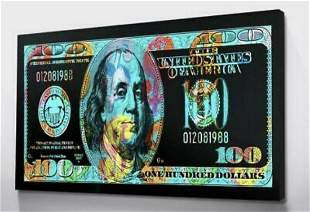Abstract Canvas Print-Dollar