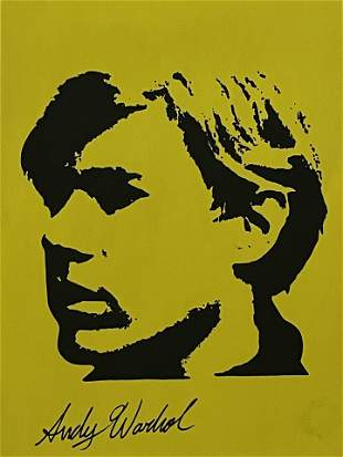 Andy Warhol - Drawing and Watercolor (In Style Of)