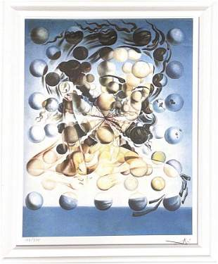Salvador Dali GALATEA OF THE SPHERES- Print Art