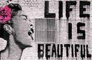 Life is Beautiful-Canvas Print