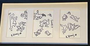Keith Haring Painting Pop Art