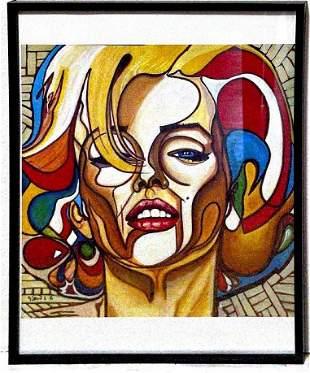 Marilyn Monroe Pop Art Print