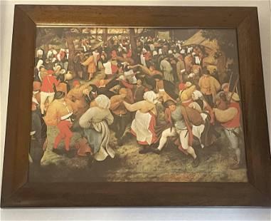 Pieter Bruegel The Elder The Wedding Dance
