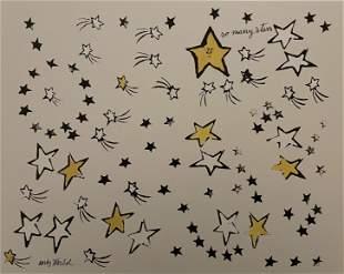 Framed Art Print:So Many Stars,1958 by Andy Warhol
