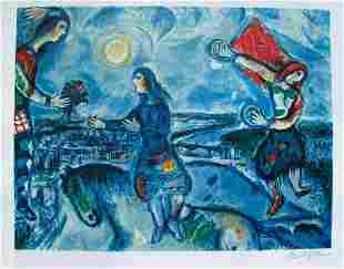 MARC CHAGALL - Limited Edition Signed Lithograph