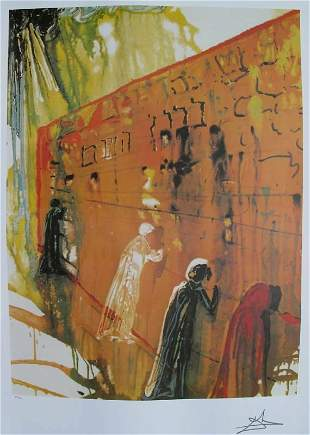 Salvador Dali Lithograph- Signed Limited Edition