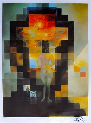 Salvador Dali Limited Edition Signed Lithograph