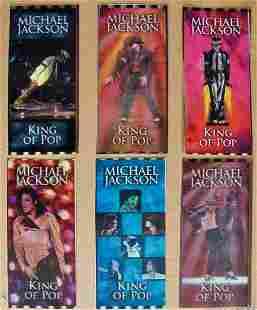 Rare Hologram Tickets of MICHAEL JACKSON