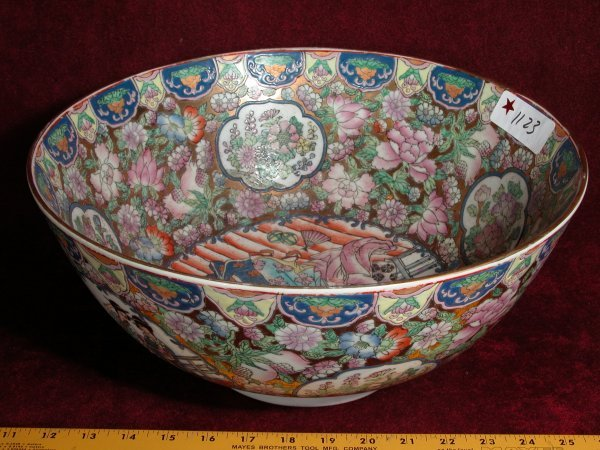 10: Chinese Handpainted Porcelain Bowls - 2