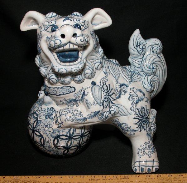 14: Ceramic Foo Dog - Fu Dog