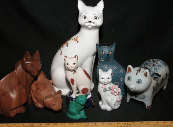 19: Collection of 8 Cat Statutes - Various