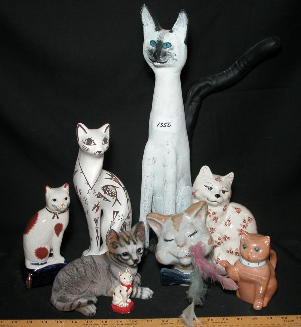 21: Collection of 8 Cat Statutes - Various