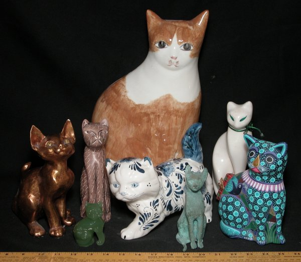 22: Collection of 8 Cat Statutes - Various