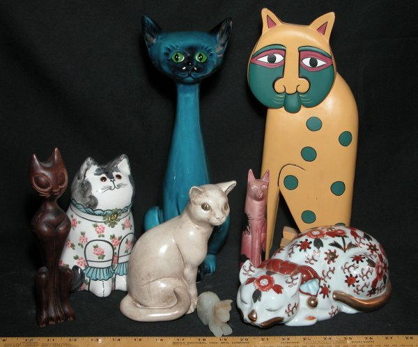 23: Collection of 8 Cat Statutes - Various