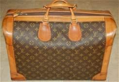 815: Authentic LOUIS VUITTON Vintage Overnight/Shoe Bag