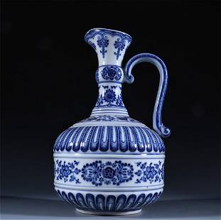 Old stock,blue and white vase