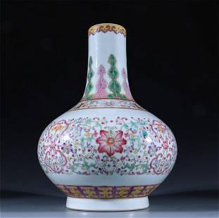 Old stock,Enamel porcelain vase