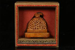 Old stock,shoushan stone ornament