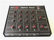 Sunn Alpha Four 100W 4 Channel Mixer