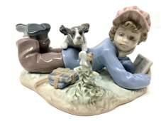Lladro 5452 Study Buddies Porcelain Figurine