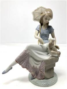 Lladro 7612 Picture Perfect Porcelain Anniversary