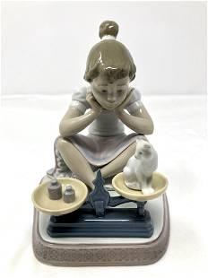 Lladro 5475 How You've Grown Artist Signed Porcelain