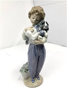 Lladro 7609 My Buddy Signed Collectors Society 1989