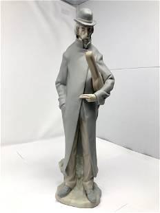 Lladro 4622 Old Man With Violin Matte Porcelain