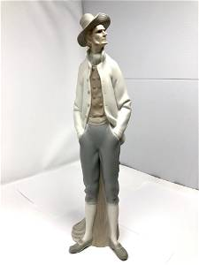 Lladro 4657 Sailor Matte Porcelain Figurine