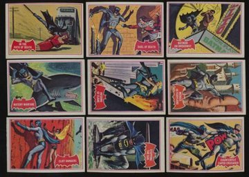 "1966, BATMAN, ""TOPPS"" Trading Card Wrapper (Vintage /"