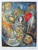Marc Chagall BELLA Limited Edition Facsimile Signed