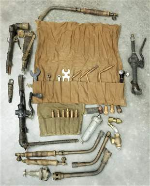 Underwater Welding Torches, Fittings & Related Wrenches