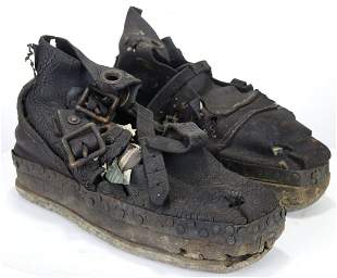 Deep Sea Divers Boots / Sandals - Very Early Leather