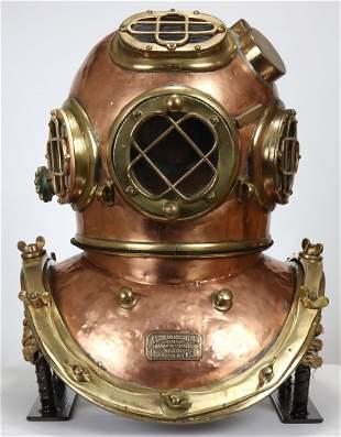 1930s A Schrader's Son Antique Diving Helmet