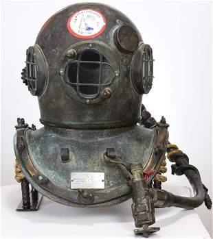 Vintage Craftsweld Dockbuilders Diving Helmet Untouched