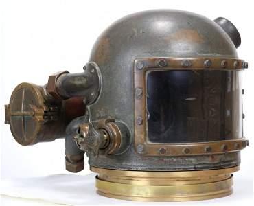 Very Rare DESCO Browne Utility Mixed Gas Helmet