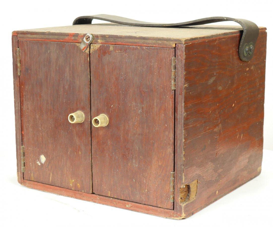 Vintage HEATH Divers Comms Box or Radio w/ Headphones