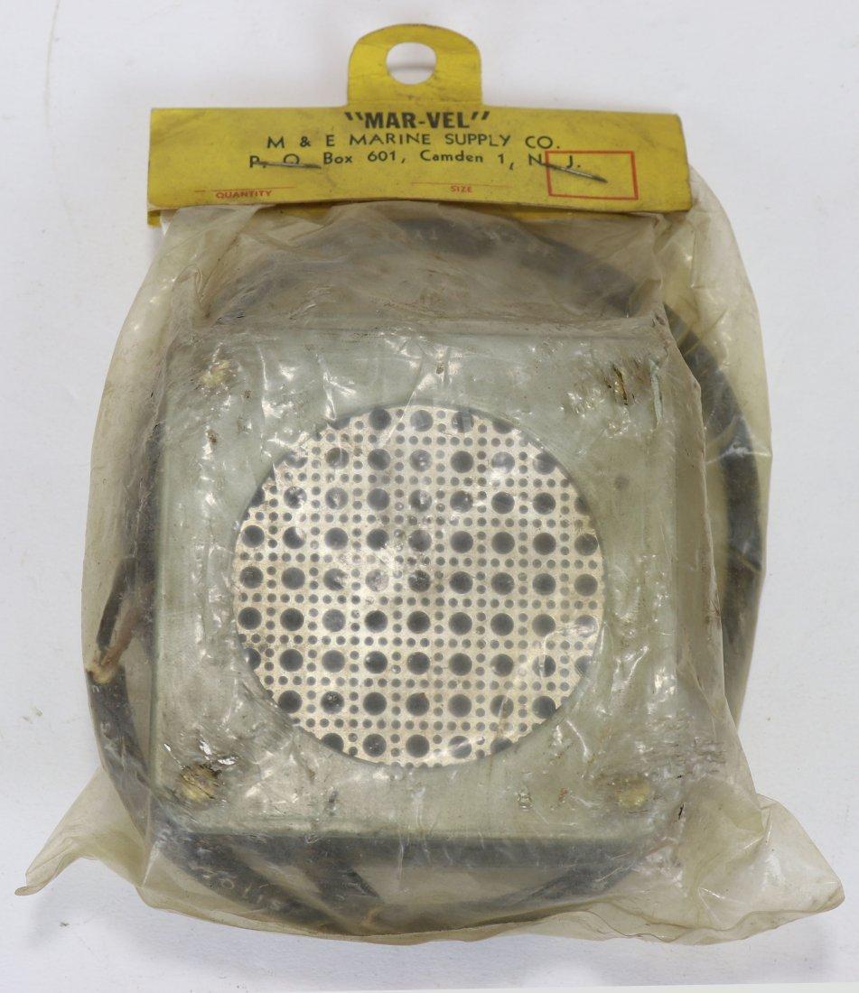 Mark V Diving Helmet Speaker / Transceiver NOS Mar-Vel