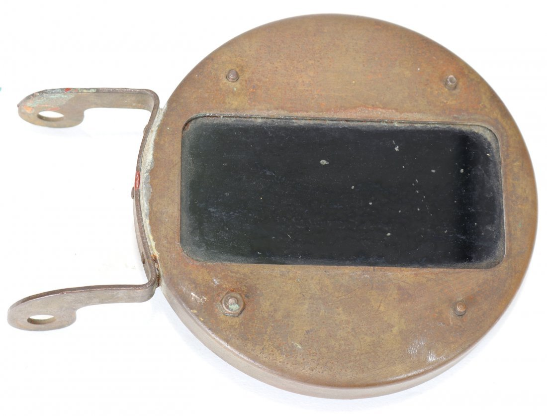 Navy Mark V Diving Helmet Welding Faceplate Shield Lens