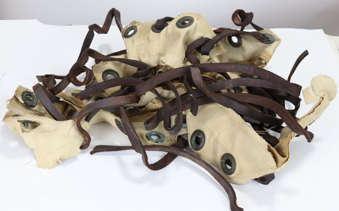 US Navy Diving Dress Leather Laces, Grommets & Canvas