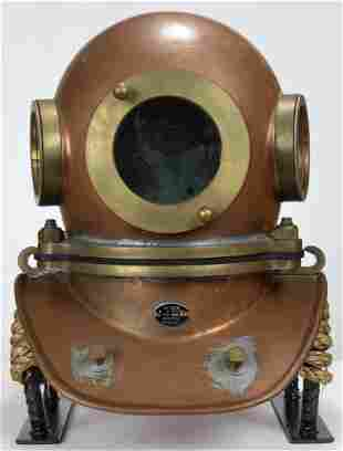 Chinese 3 Bolt Diving Helmet TF-3 Like New 1996