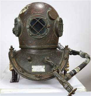 Craftsweld Dockbuilders Diving Helmet & Air Control