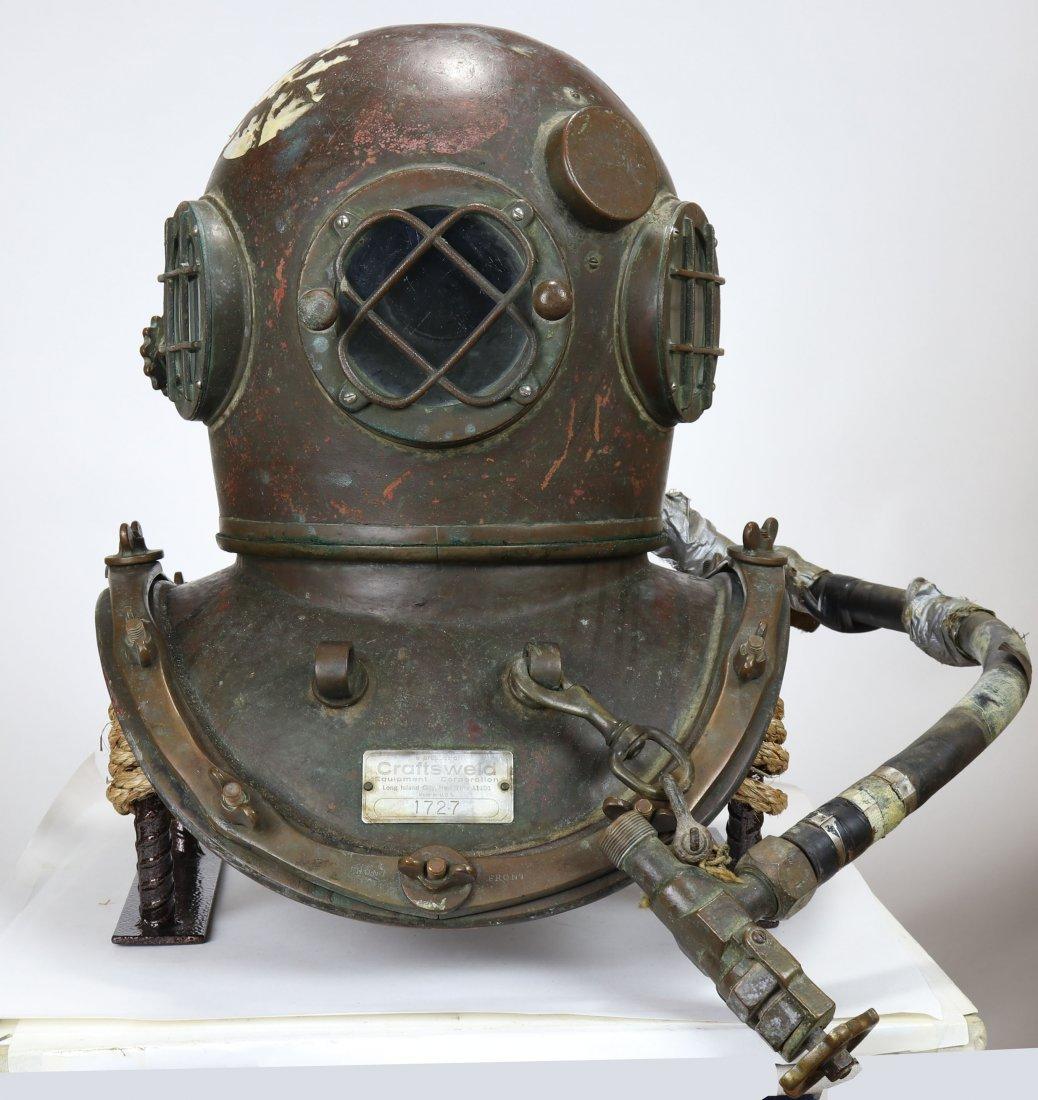 Craftsweld Dockbuilders Diving Helmet & Air Control