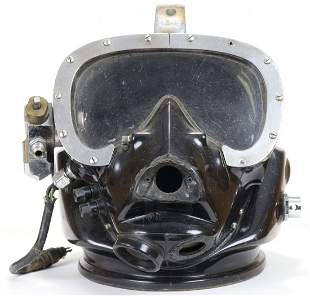Vintage General Aquadyne DMC-7 Fiberglass Diving Helmet