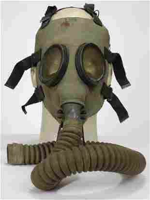 United States Military M1A2 Gas Mask 1930s & 1940s