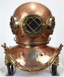 Rare Alfred Hale & Co Boston Diving Helmet 1800s