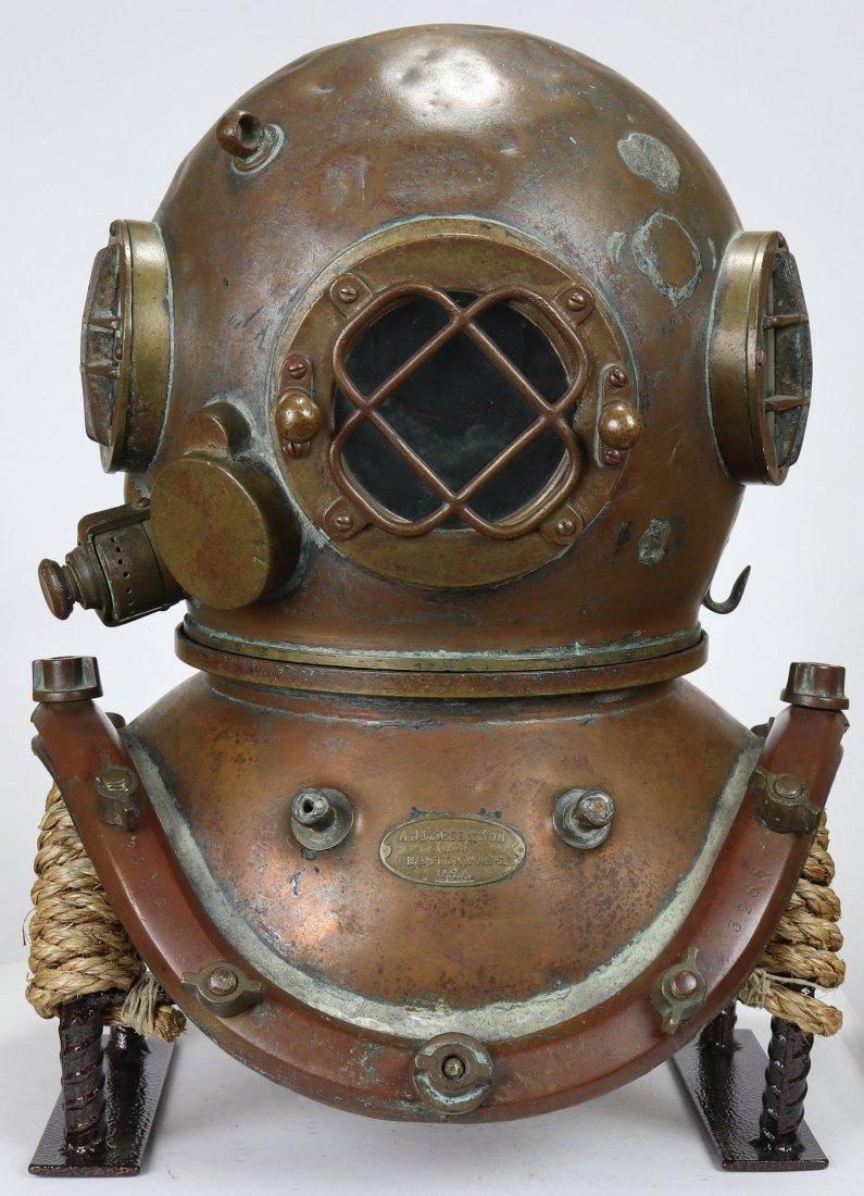 A.J. Morse & Son Boston Antique Diving Helmet 1920s