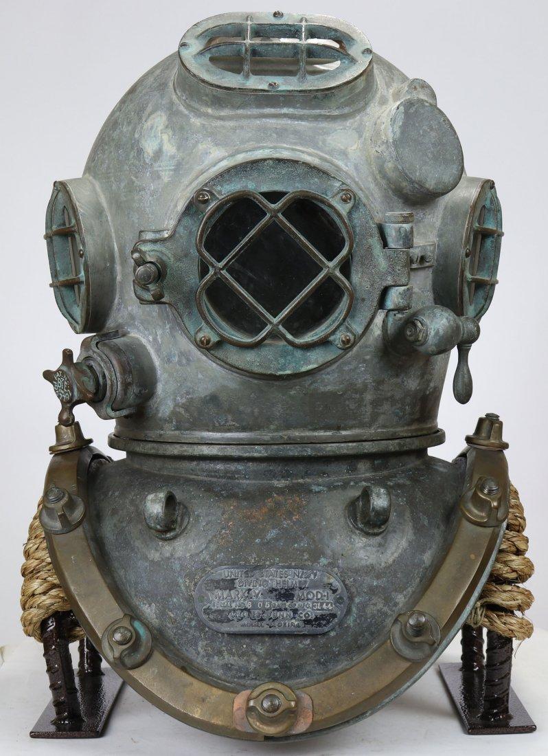 US Navy Mark V Diving Helmet Miller Dunn 44