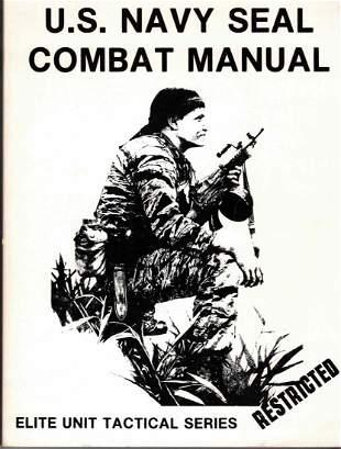 US Navy Seal Combat Manual 1974 Elite Unit Series